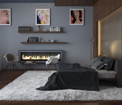 Bedroom Design Grey Bed Modern Bedroom Ideas