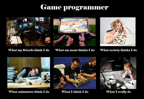 Meme Programmer - image 250645 what people think i do what i really