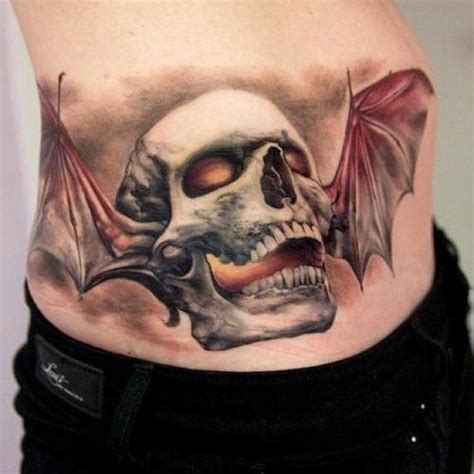 deathbat tattoo deathbat ink this is an amazing avenged
