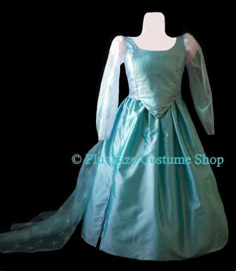 Elsa Handmade Costume - elsa frozen costume plus size and size