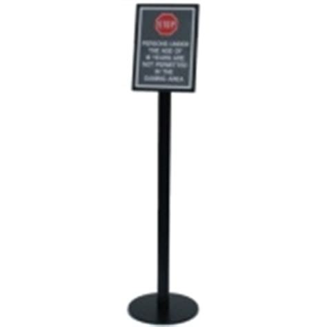 wait to be seated sign stand uk b and n changeable signs