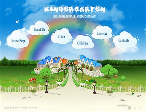 download free website templates for kindergarten children website templates kids templates