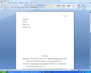 How To Write Mla Essay by How Do You Write A Mla Paper