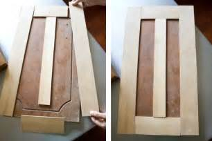 Diy Cabinet Doors Diy Kitchen Cabinet Transformation 60 S Style Cabinets Are Refaced With Wood Slats Painted