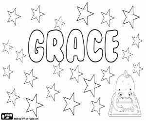coloring pages of the name grace girl names with g coloring pages printable games