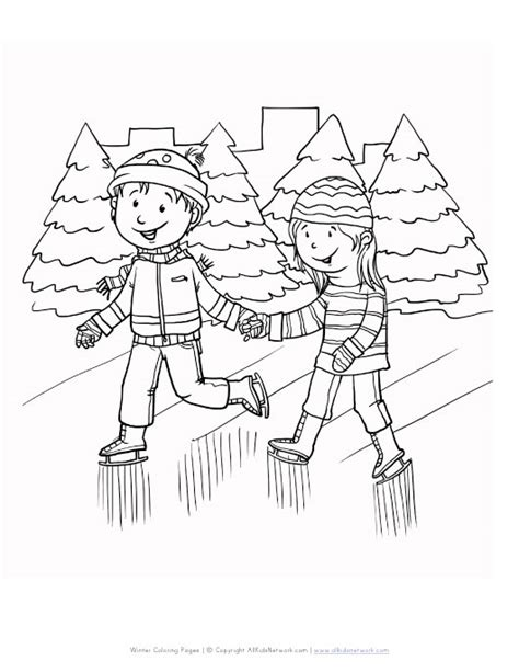 ice skating free printables free ice skating s coloring pages
