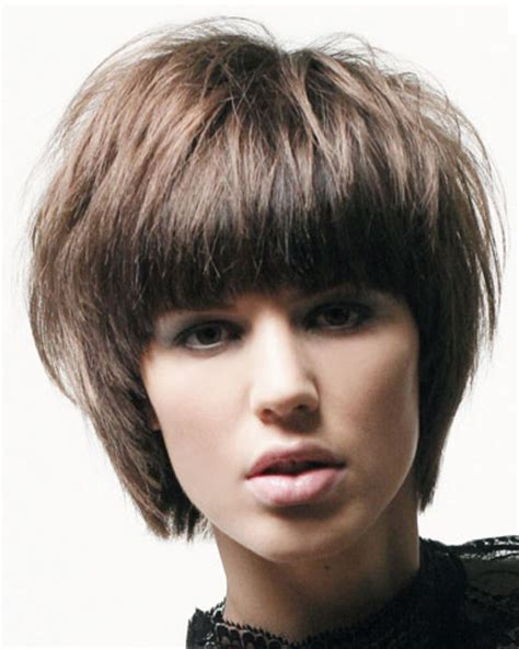 short hairstyles for girls for 2013 types of short women short hairstyles with long straight bangs png
