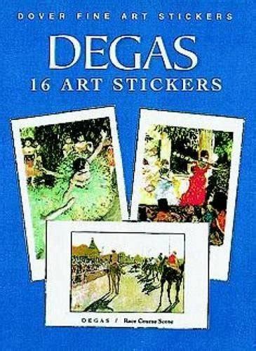 dali 16 art stickers 0486410749 degas 16 art stickers dover art stickers association for contextual behavioral science