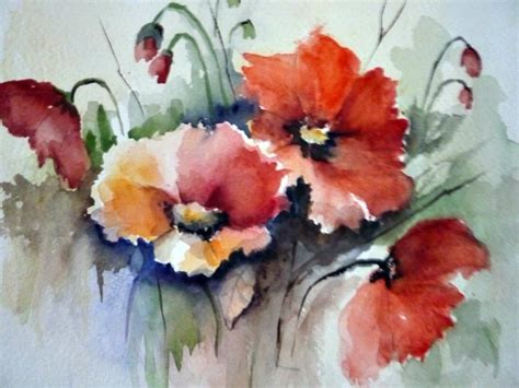 fiori ad acquerello acquerello