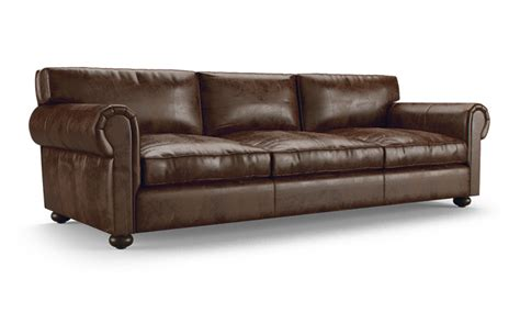 Oliver Leather Sofa By Joybird