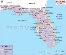 florida highway maps florida road map http www mapsofworld