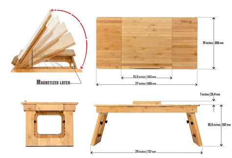 Eco Friendly Bamboo Sitting To Standing Desk Converter Bamboo Standing Desk