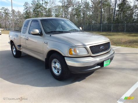 2000 Ford F150 by 2000 Harvest Gold Metallic Ford F150 Lariat Extended Cab