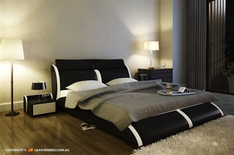 Bed Vicenza vicenza leatherbed au