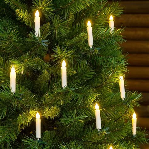 arbol de navidad led guirnalda de 20 velas led con clip para 225 rbol de navidad