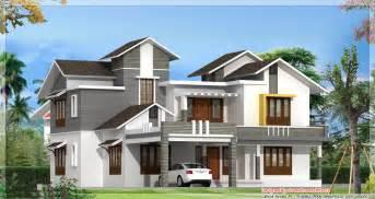 Latest Home Design In Kerala Modern Model Houses Designs House Designs Pinterest