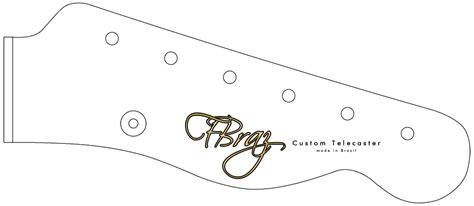 fender bass headstock template pictures to pin on