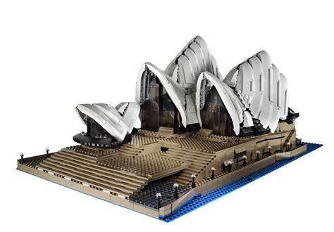 buy lego sydney opera house lego unveils 10234 sydney opera house