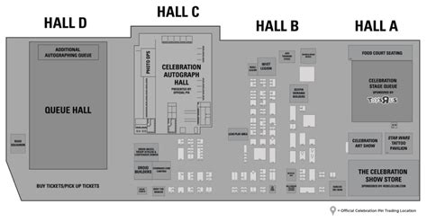 wars floor plans wars celebration floor map available now