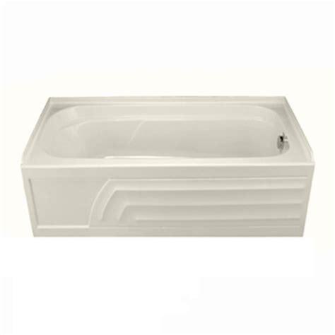 bathtub acrylic american standard colony 65 in acrylic right drain