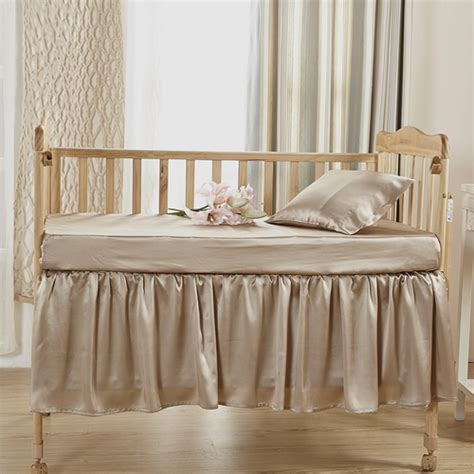 Silk Crib Bedding Buy 100 Soft Silk Crib Bedding Set In Lilysilk