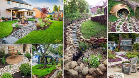 diy garden 100 easy creek landscaping ideas you can make