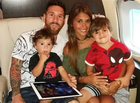 lionel messi family biography messi family jets back for pre season the nation nigeria