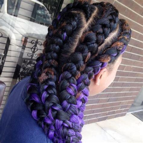 two braids purple goddess 60 inspiring exles of goddess braids