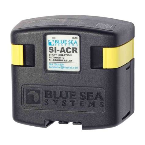 boat battery relay blue sea systems starting isolation dual sensing automatic