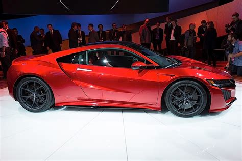 live coverage acura unveils 2016 nsx at american