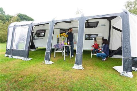 caravan awning reviews bradcot modul air caravan awning review advice tips