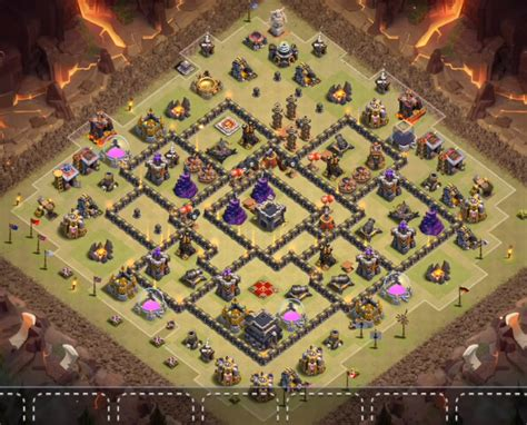 coc layout th9 anti gowipe 12 best town hall th9 base designs layouts 2017 cocbases