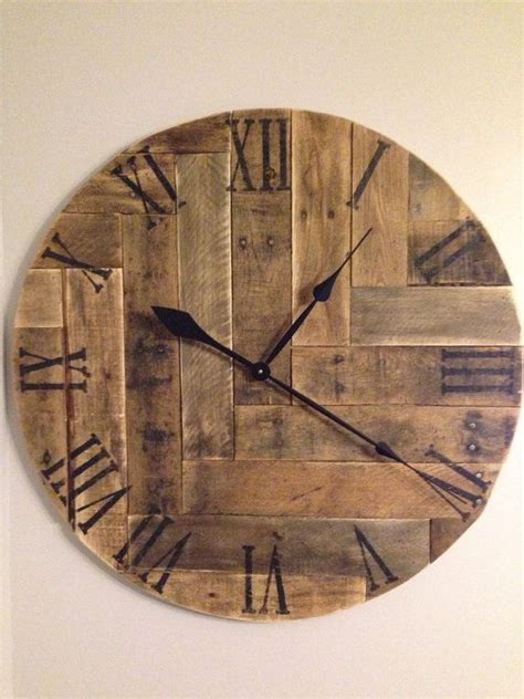 wood clock best 25 wood clocks ideas on pinterest b q giant wall