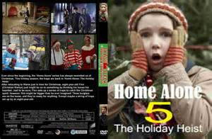 home alone 5 covers box sk home alone 5 high quality dvd