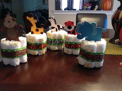 1 jungle theme mini diaper cake baby shower by 57 best safari themed baby shower images on pinterest