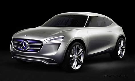 mercedes benz  code concept  china penned glb design study