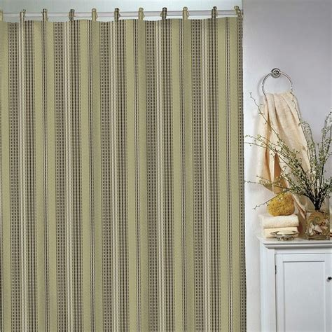 park b smith curtains park b smith 174 waffle striped shower curtain sold out
