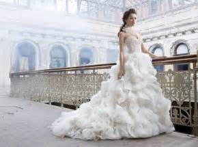 most beautiful wedding dresses one of the most beautiful gowns 2012 glitter lace
