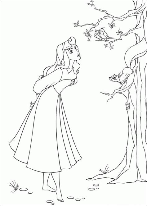 sleeping beauty coloring pages coloringpagesabc com
