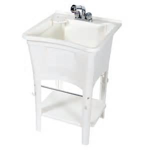 zenith white polypropylene utility tub lowe s canada