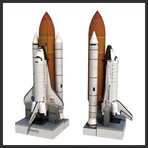 paper models free paper models and space shuttle on