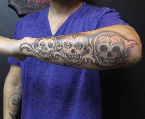 cartoon skull tattoos mister