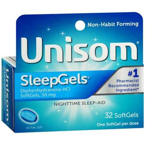 sleep aid unisom sleepgels maximum strength nighttime sleep aid