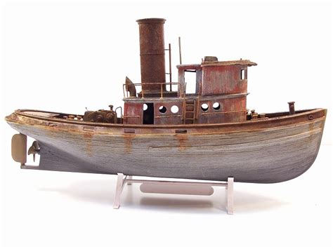 wooden tugboat plans steam tugboat plans drawings finescale modeler