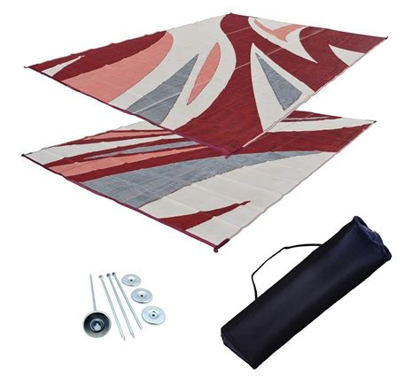 patio mats for rvs rv patio mat motorhome awning mat outdoor burgundy wave
