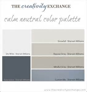 sherwin williams color palettes office craft room paint color palette paint it monday