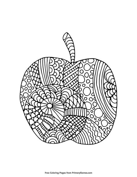 apple coloring pages for adults 176 best coloring pages images on pinterest fall