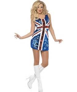 d 233 guisement spice girls robe angleterre id 233 e costume