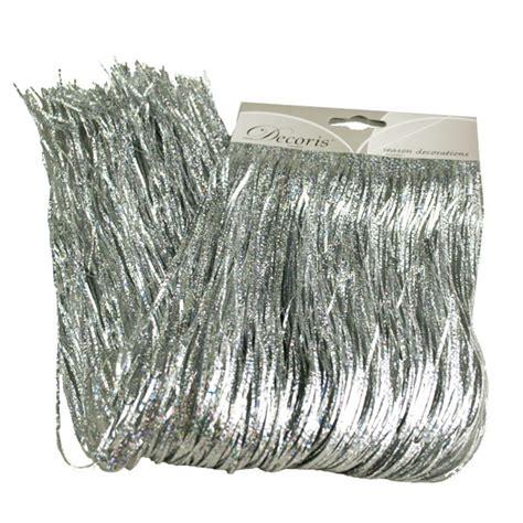 silver laser lametta 50cm x 40cm decorations for