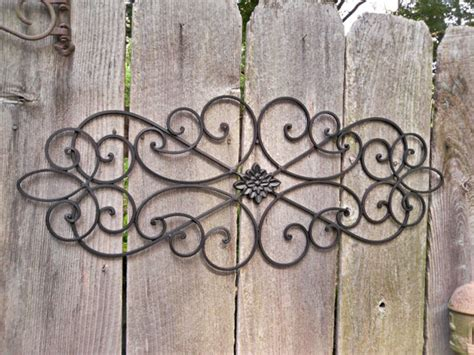 outdoor wrought iron wall decor sales event wrought iron shabby chic decor by theshabbyshak